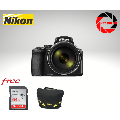 Nikon Coolpix P950 + Nikon Bag + 64GB HighSpeed Card (Futuromic Warranty)